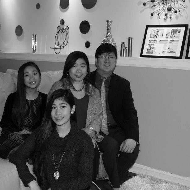 Host family in Winnipeg, Canada