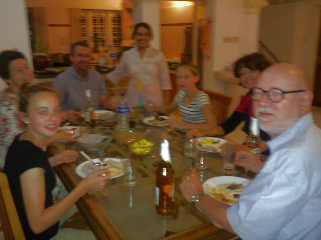 Host family in guruvayur, India