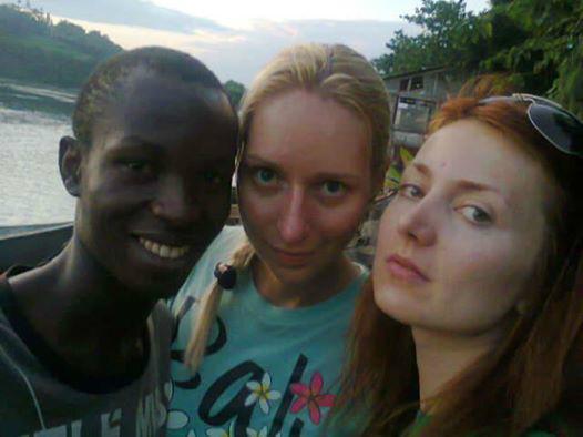 Host family in Jinja, Uganda
