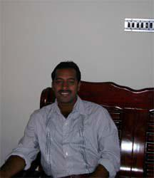 Host family in CALICUT, India
