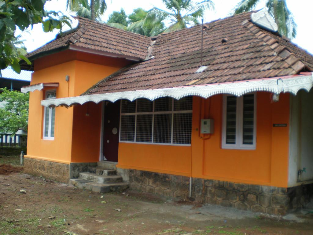 Host family in Thrissur, India