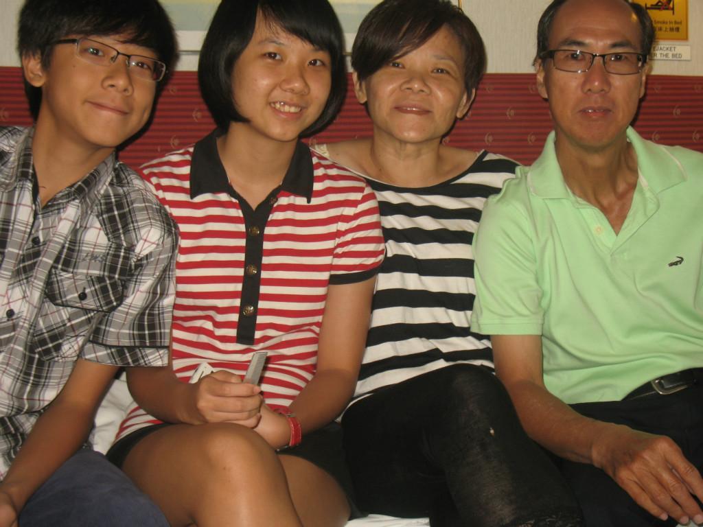 Host family in Balik Pulau, Malaysia