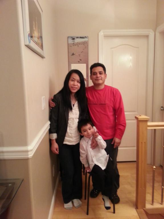 Host family in Surrey, Canada