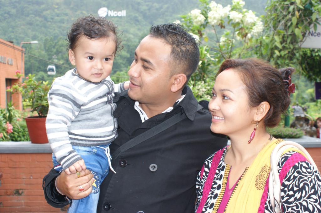 Host family in Kathmandu, Nepal