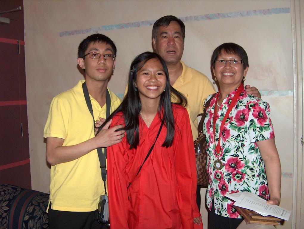 Homestay family Gene