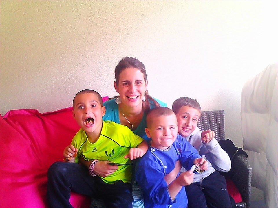 Homestay family francoise