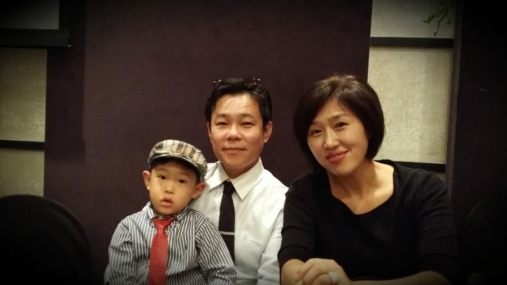 Host family in Gwangju, South Korea
