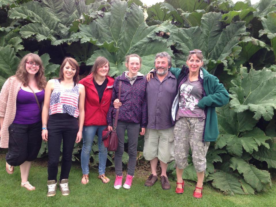 Host family in Buckley Nr. Chester, United Kingdom