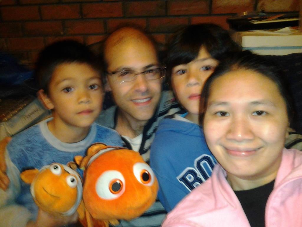 Host family in Vancouver, Canada