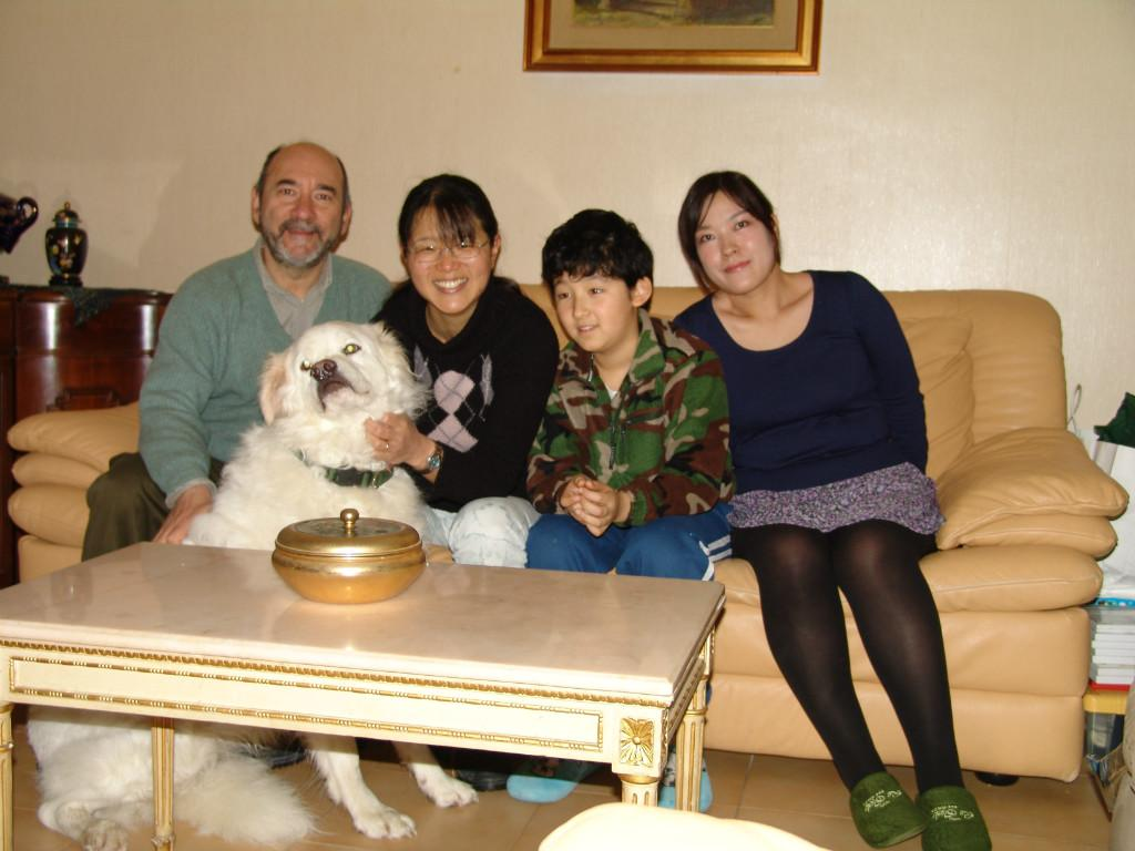 Host family in Rome, Italy
