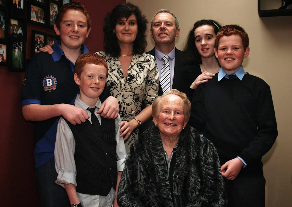 Host family in Castlebar, Ireland