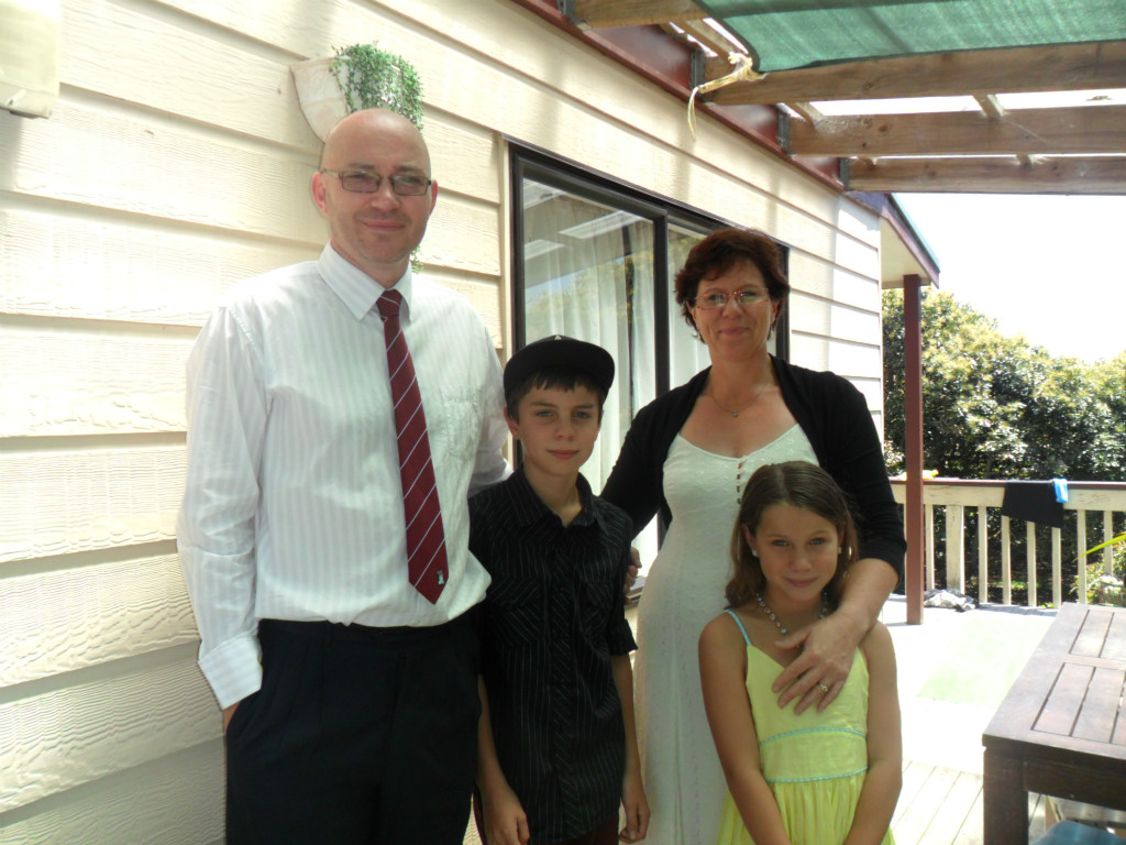 Host family in Tauranga, New Zealand