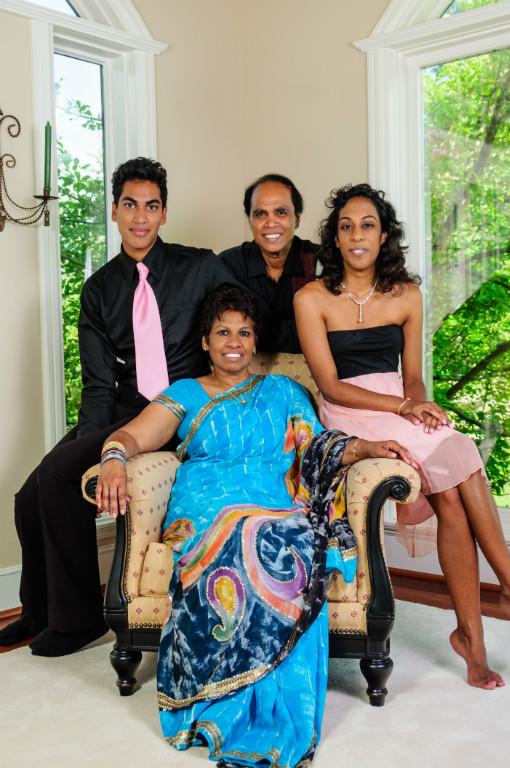 Host family in Calgary, Canada