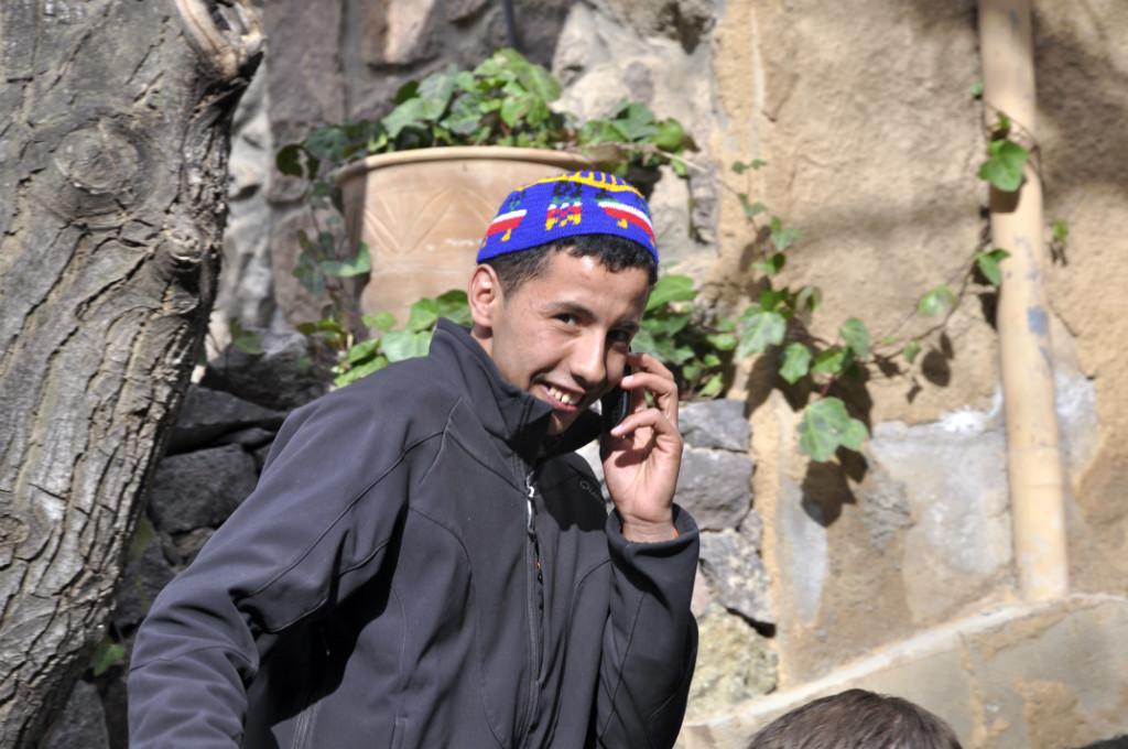 Host family in Asni, Morocco