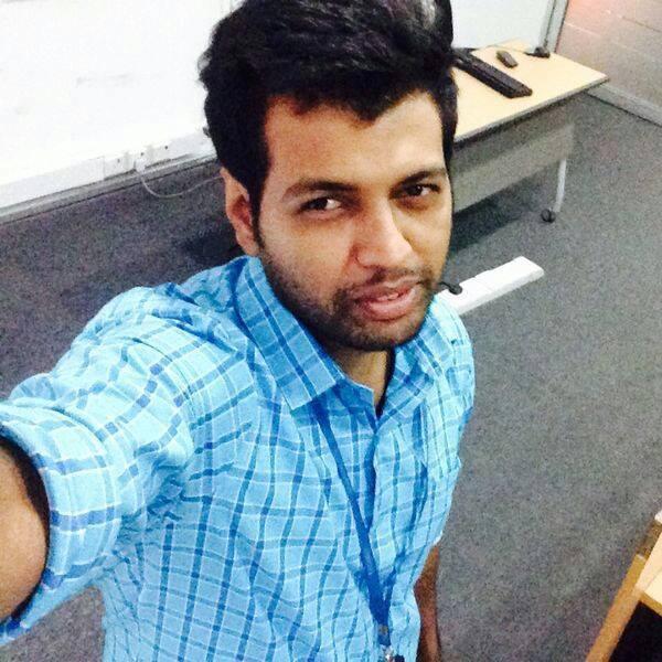 Homestay student Prasath